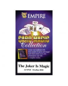 Empire Magic The Joker is Magic Close Up Magician 4in Magic Set