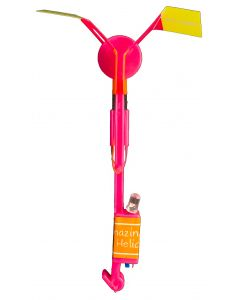 Supreme Slingshot Light-up Helicopter 6 in Led Toy, Assorted, 12 Pack