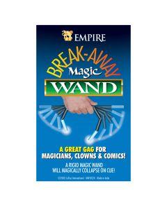 "Empire Magic Breakaway Magic Magician Wand 6"" Close-Up Magic Trick, Black White"