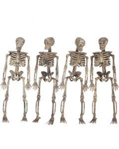 Loftus Halloween Decaying Skeleton Hanging Decoration 5 ft Garland, Tan