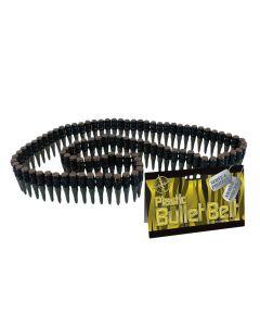 Loftus Plastic Bullet Belt 96 Bullet Bandolier, Black Bronze, One Size