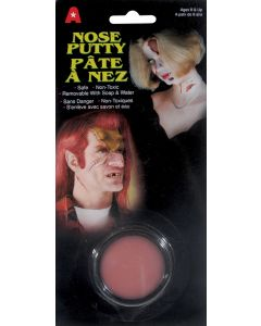 Halloween Special Effects Makeup Costume Nose 5g Putty, Beige, 12 Pack