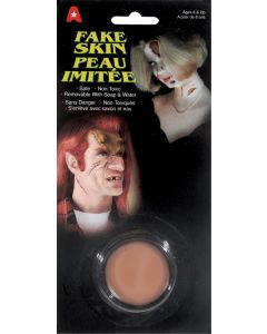 Halloween Special Effects Makeup Costume 5g Fake Skin, Beige, 12 Pack