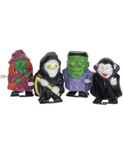 Loftus Wind-Up Halloween Characters Walking Ghouls Wind-Up Toy, 12 CT