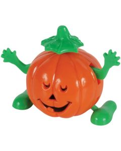 Veil Entertainment Halloween Wind-Up Jack-O-Lantern Wind-Up Toy, Orange Green
