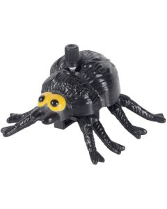 Veil Entertainment Halloween Wind-Up Moving Spider Wind-Up Toy, Black