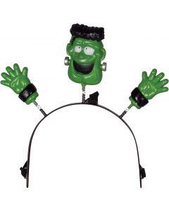 """Loftus Child Halloween Lightup Frankenstein Headband Boppers, Green, 4.5"""""""