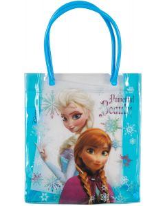 "Ruz Disney Frozen Powerful Beauty Anna & Elsa 13"" Tote Bag, Blue"