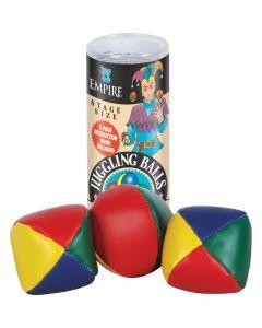 "Empire Magic Professional Stage Size Starter Kit 4pc 2.5"" Juggling Ball Set"