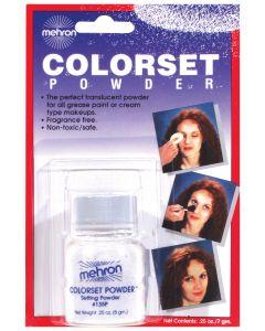Mehron Halloween Costume Makeup Colorset .25oz Setting Powder, White