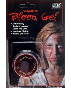 Mehron Coagulated Clotting Blood Gel .5oz Fake Blood, Dark Red