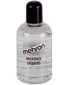 Mehron Mixing Liquid With Fixative Makeup 4.5oz FX Liquid, Clear
