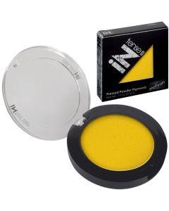 Mehron Intense Pro Pigment Yellow Spark Pressed Powder Makeup .11oz
