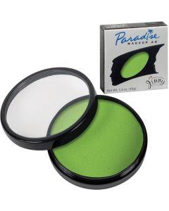 Mehron Paradise AQ Professional Refill 1.4oz (40g) Cake Makeup, Lime Green