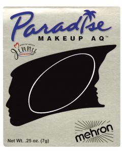 Paradise AQ Professional Single Refill .25oz (7g) Pressed Powder Makeup, Black