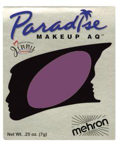 Mehron Paradise AQ Professional Refill 7g Cake Makeup, Wild Orchid Purple