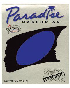 Mehron Paradise AQ Professional Single Refill .25oz (7g) Cake Makeup, Violet