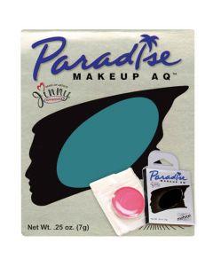 Paradise AQ Professional Single Refill .25oz (7g) Cake Makeup, Deep Sea Blue