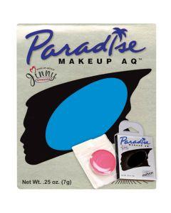 Mehron Paradise AQ Professional Single Refill .25oz (7g) Cake Makeup, Sky Blue