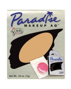 Paradise AQ Professional Single Refill .25oz (7g) Cake Makeup, Dijon Beige
