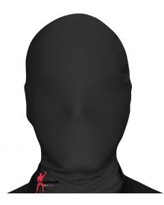 Original Morphsuits Solid Black Morph Mask Costume Mask Hood One Size