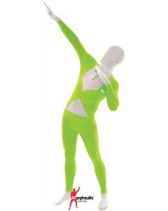 Original Morphsuits Green Fluro Tux Adult Suit Fluorescent Morphsuit XX-Large