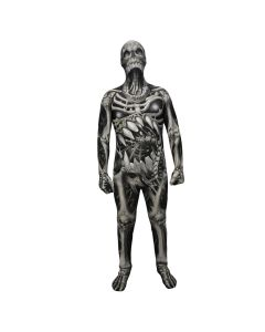 Morphsuits Black Skull And Bones Monster Suit Designer Morphsuit XX-Large
