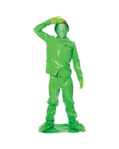 Original Morphsuits Green Saving Private 4pc Character Kids Costume Medium