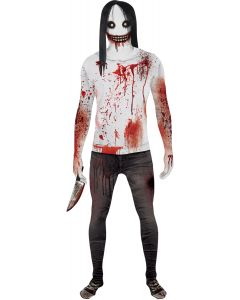 Original Morphsuits White Jeff The Killer Suit 2pc Character Morphsuit Large