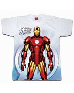 Digital Dudz White Ironman Chest Reactor Shirt Adult Costume X-Large