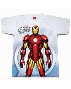 Digital Dudz White Ironman Chest Reactor Shirt Adult Costume Small