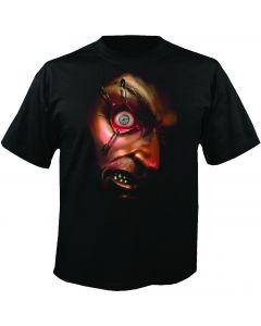 Digital Dudz Black Frantically Moving Eyeball Costume T-Shirt Medium