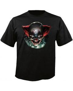 Digital Dudz Black Freaky It Clown Eyes Adult Costume T-Shirt X-Large