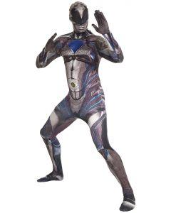 "Men Saban's Power Rangers Movie Character Morphsuit, Black, X-Large (5'10""-6'3"")"