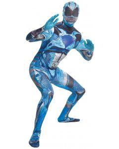 Morph Costumes Saban's Power Rangers Movie Adult Morphsuit, Blue, Medium