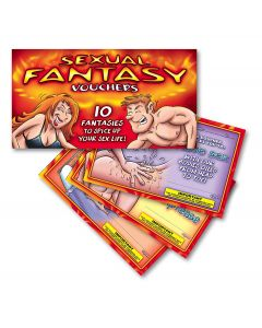 Ozze Creations Sexual Fantasies Adult Bedroom Coupon Book, 10 Vouchers