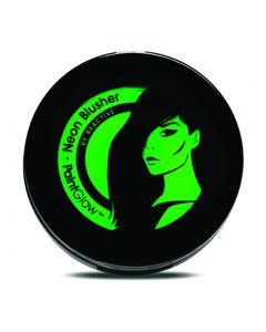 PaintGlow UV Reactive Neon Glow Compact Powder 3.5g Blusher, Green