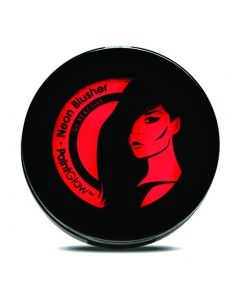 PaintGlow UV Reactive Neon Glow Compact Powder 3.5g Blusher, Red