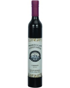 Brella Vineyards Cabernet Wine Bottle Hidden Umbrella Gift, 12in, Burgundy