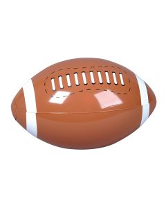 Rinco Football Party 16in Inflatable Toy, Brown White, 12 Pack