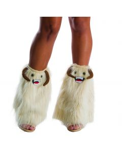 Rubies Halloween Star Wars Wampa Leg Warmers, White, One Size
