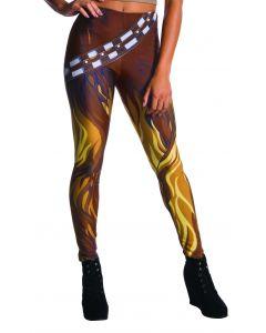 Rubies Star Wars Chewbacca Wookie Costume Leggings, Brown, One Size