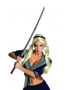 Rubies Sucker Punch Babydoll Cosplay Prop Katana Costume Sword, Grey, 36""