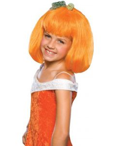 Rubies Halloween Fruitylicious Pumpkin Spice Wig, Orange, One Size