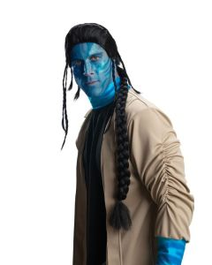 Rubies Officially Licensed Avatar Jake Sully Wig, Black, One size