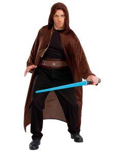 Rubies Halloween Star Wars Jedi Knight 4pc Adult Costume, Brown, One Size