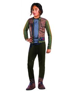 Rubies Rogue One Star Wars Jyn Erso One-Piece Child Costume, Medium 8-10
