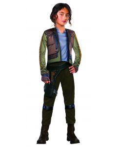 Rubies Rogue One Star Wars Deluxe Jyn Erso Complete Child's Costume, Medium 8-10