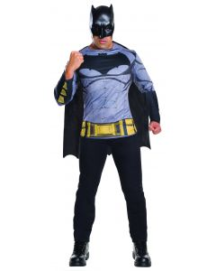 Rubies Batman v Superman Dawn of Justice 3pc Men Costume, Blue Black, XL