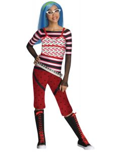Rubies Monster High Ghoulia Yelps 4pc Child Costume, Red Black, Small 4-6